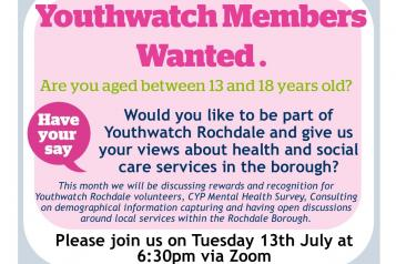 HWR Youthwatch poster July
